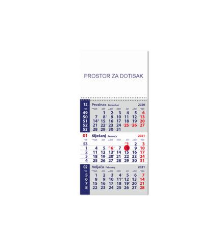 Poslovni trodjelni kalendari