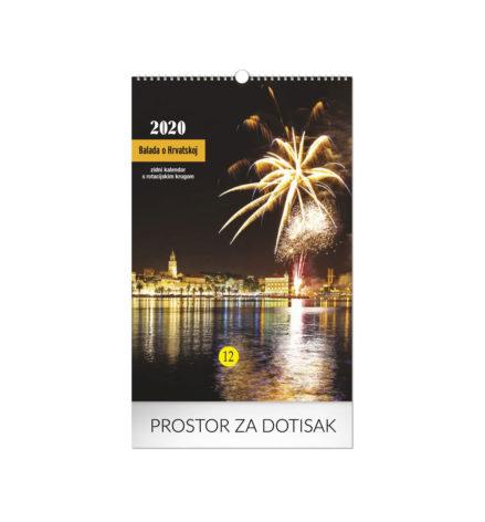 Zidni kalendari sa tiskom