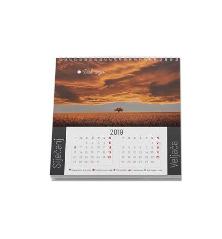 Tisak stolnih kalendara