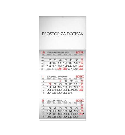 Poslovni tromjesečni kalendari